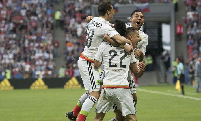 Goles de México vs Rusia Confederaciones 2017