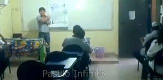 fantasma en el salón de clases