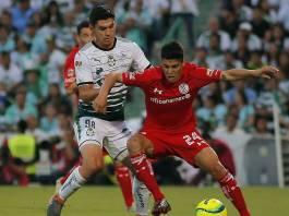 Goles del Santos vs Toluca Juego de Ida
