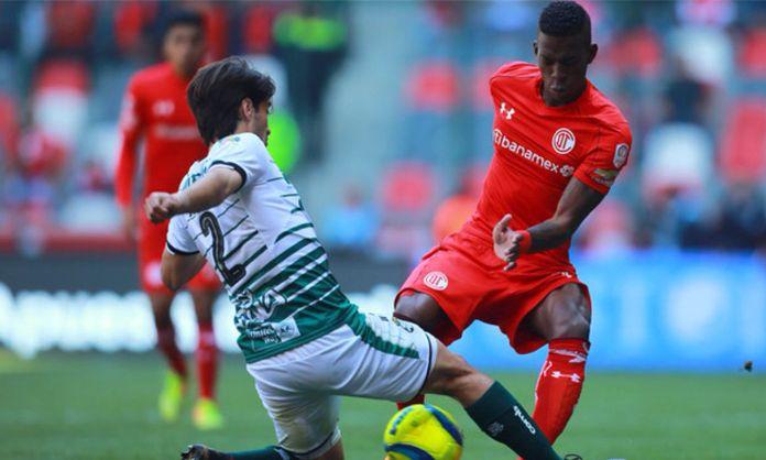 ver en vivo Toluca vs Santos
