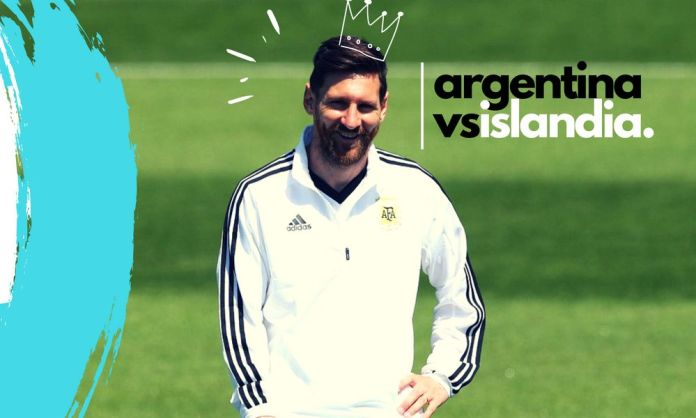 ver en vivo Argentina vs Islandia