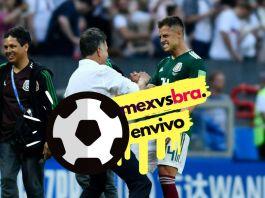 ver en vivo México vs Brasil