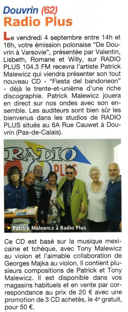 la maison de la polonia et radio plus