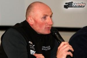 David HAUQUIER, ex-vainqueur de l'Enduro du Touquet et responsable de l'organisation ( (c) Motoverte.com)