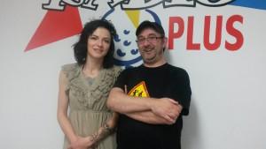 Michaël Moslonka et Valériane Gaudin
