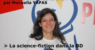 """Annonce chronique """"Sciences et fictions"""" n°14, animée par Manuella YAPAS"""
