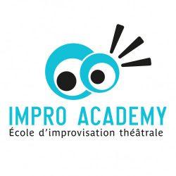 Logo Impro Academy - école d'improvisation théâtrale
