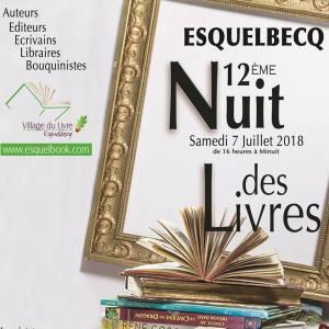 Affiche 12ème Nuit des Livres à Esquelbecq