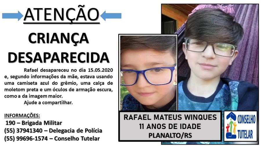 Caso Rafael: Desaparecimento ainda é um mistério para a polícia ...