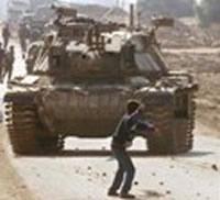 Palestine tank.  Source: www.qumsiyeh.org