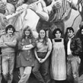 "Chilean wind ensemble ""Grupo Raiz"" in the early 1980s."