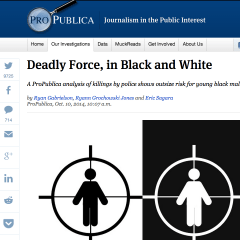 ProPublica's Ryan Gabrielson on police shootings and black teenage males
