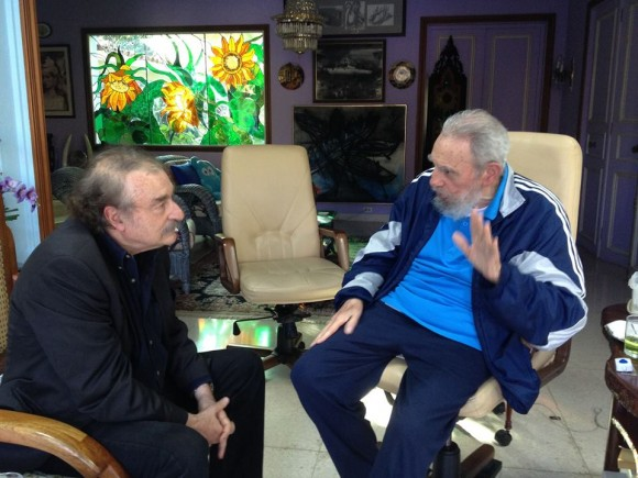 Resultado de imagen para Fidel Castro + Ignacio Ramonet