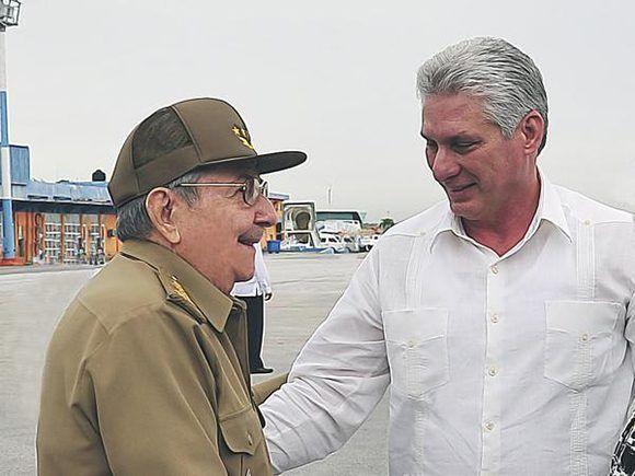 Despidió Raúl al Presidente Cubano que participará en Debate de la ONU