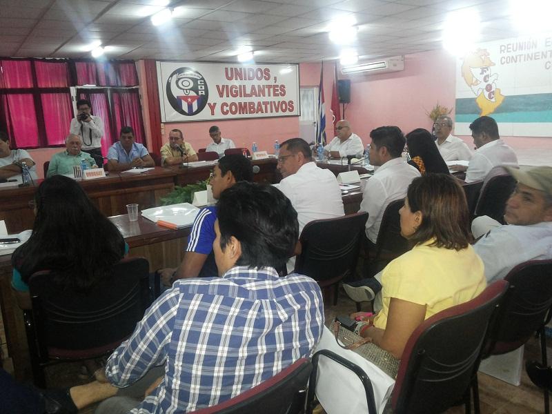 Reunión de la FCOC en Cuba