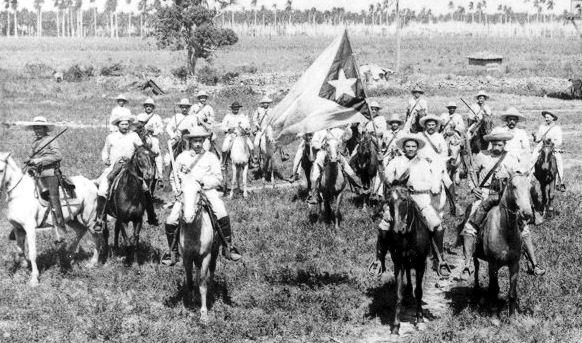 Mambises en la guerra de independencia