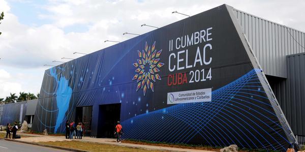 II Cumbre de la Comunidad de Estados Latinoamericanos y Caribeños (CELAC) celebrada en La Habana en enero de 2014