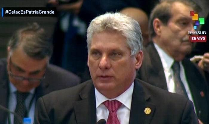 Díaz-Canel: tenemos en la Celac los mecanismos para lograr la unidad
