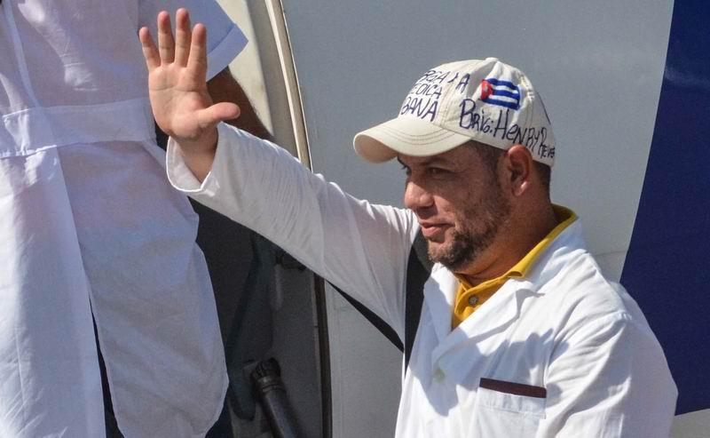 Resultado de imagen de brigada cubana que cumple misión solidaria en Perú