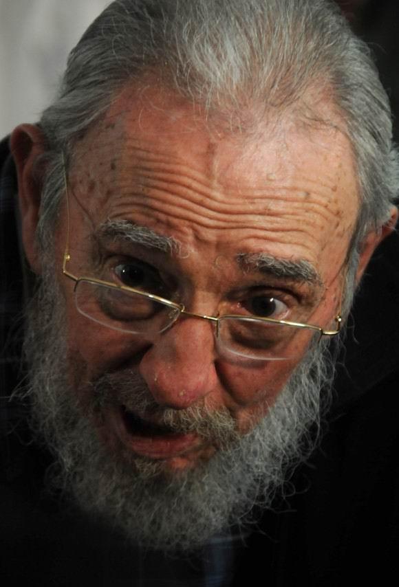 Fidel Castro Ruz  el 3 de febrero de 2013. Foto: Ismael Francisco.