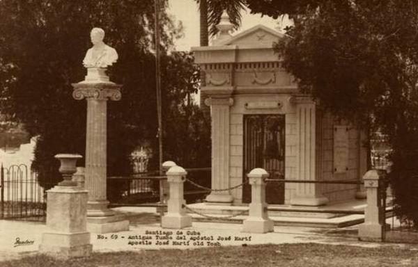Centenario del primer busto de m rmol en honor a jos for Marmol en santiago