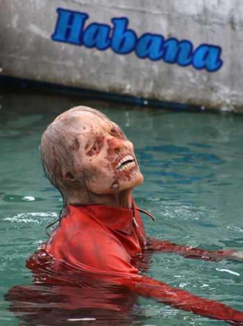"""Juan de los muertos"""" cuenta la historia de una invasión de zombis en La Habana. Foto tomada de Juventud Rebelde"""