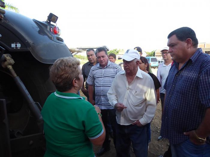 Recorre Machado Ventura bioeléctrica en Ciego de Ávila. Foto: Ortelio González Martínez