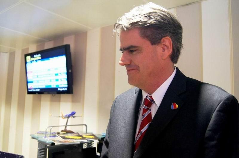 Manuel de Oyarzabal Castellanos, funcionario de la Southwest. Foto: José Miguel Solís