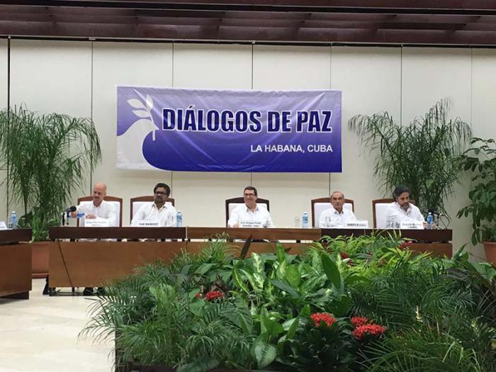 Anuncio de la llegada de un Acuerdo Final, integral y definitivo para la paz en Colombia, suscrito en La Habana