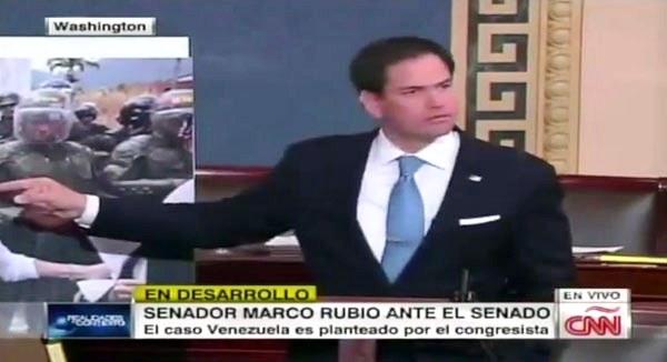 Marco Rubio: la vergonzosa historia de un senador