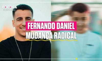 Novo cabelo Fernando Daniel