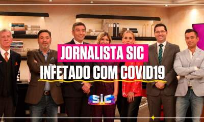 Jornalista SIC infetado com Covid19