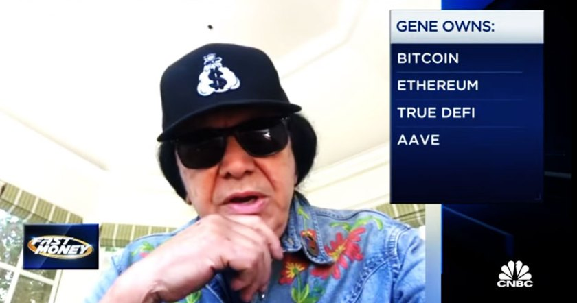 Gene Simmons of Kiss makes optimistic predictions for Bitcoin value