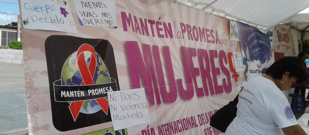 Organizaciones de mujeres conmemoran Día Internacional de la Mujer en Petén