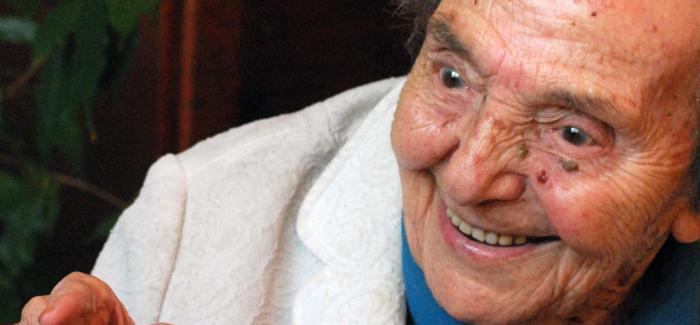 Alice Herz-Sommer, en judeoespañol, desde el CIDICSEF de Buenos Aires