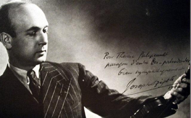 La sonata para violín  y piano Nº 10 de Beethoven, por Szigeti y Horszowski