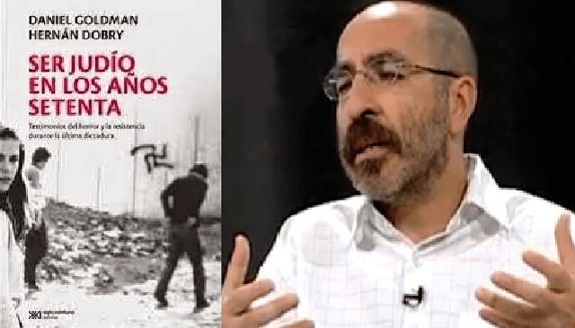 """Presentación del libro """"Ser judíos en los años setenta"""" de Hernán Dobry y el Rabino Daniel Goldman"""