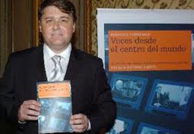 """Presentación del libro """"Voces desde el centro del mundo"""" de Henrique Cymerman (25/5/2005)"""