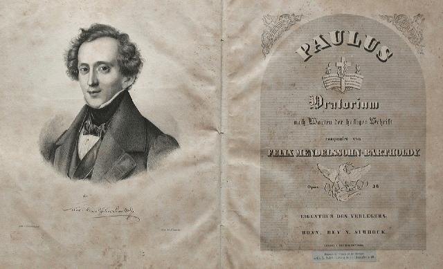 """Oratorio """"Paulus"""" de Mendelssohn"""