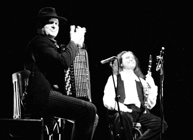 Las melodías callejeras de The Klezmer Goys