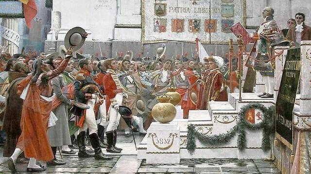 Las constituciones del siglo XIX