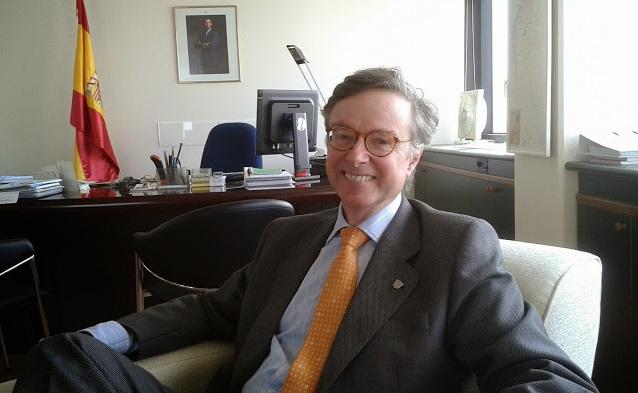 Fernando Carderera, embajador de España en Israel