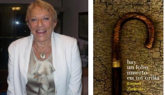 """""""Hay un lobo muerto en mi orilla"""", con su autora Raquel Zieleniec"""