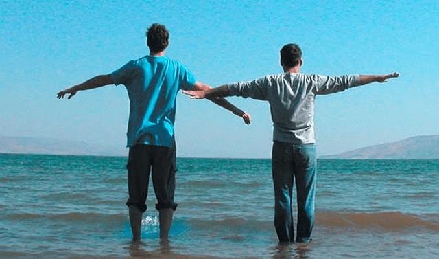 """Caminar sobre las aguas (Lalehet al hamayim)"" (2004), de Eytan Fox (Israel)"