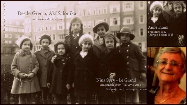 Nina Sevy, la desconocida amiga de Anna Frank – Zante, una isla de Justos