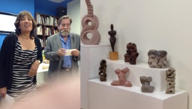 La israelí Jaffa Gross expone sus esculturas en Madrid