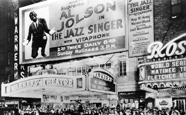 """El cantor de Jazz (The Jazz Singer)"" (1927), de Alan Crosland (EE.UU.)"