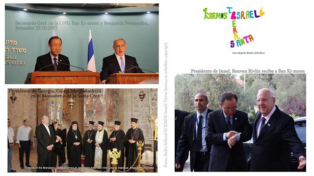 Maratón de Ban Ki-moon en Israel… y más