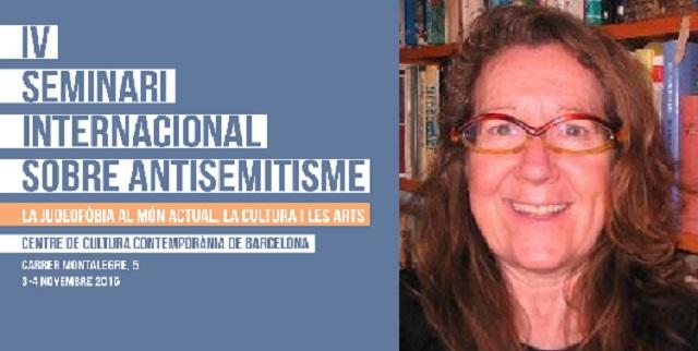 """""""Autores israelíes contemporáneos, para buenos lectores"""", con Ana Bejarano (Barcelona, 4/11/2015)"""