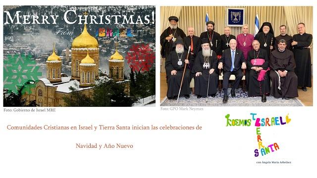 Navidad. Cristianos en Israel & Muertos por ser judíos